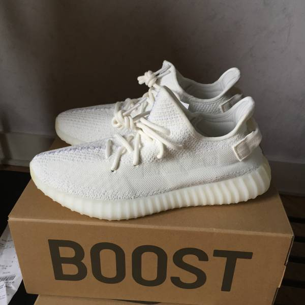 Adidas Yeezy Boost 350 V2 Cream Triple White CP9366 Size 4 14