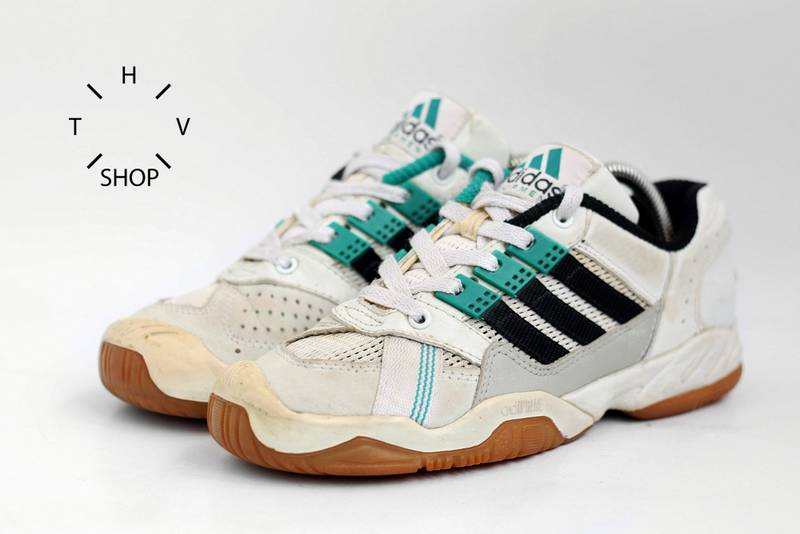 adidas 90s. Adidas EQT Indoor Low Equipment Vintage 1996 90s Kicks Sneakers Trainers - Photo 2/8 E
