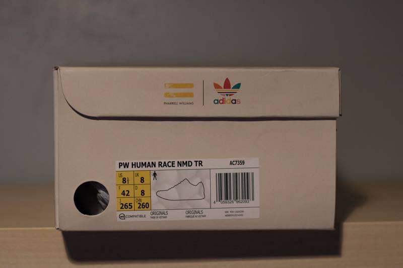 Adidas Human Race NMD x Pharrell Williams Green and Blue On