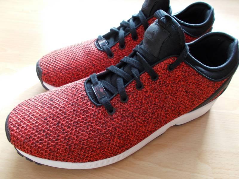 Adidas originals Originals Off White Zx Flux Verve Mesh Trainers in