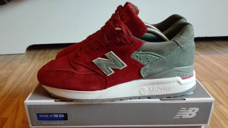 New Balance 998 Concepts Rivalry - photo 1/6