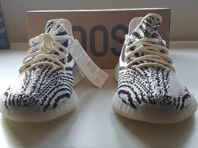 Resell Value For The Zebra Yeezy Boost 350 V2 (CP9654) Yeezys
