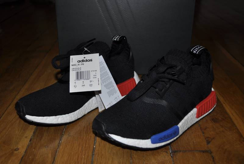 MY FIRST PAIR OF ADIDAS NMD 's OG NMD R1 PK' Primeknit 're