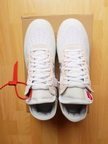 7663c607df67 ... Nike Air Force 1 Low Off White 39The Ten39 ...