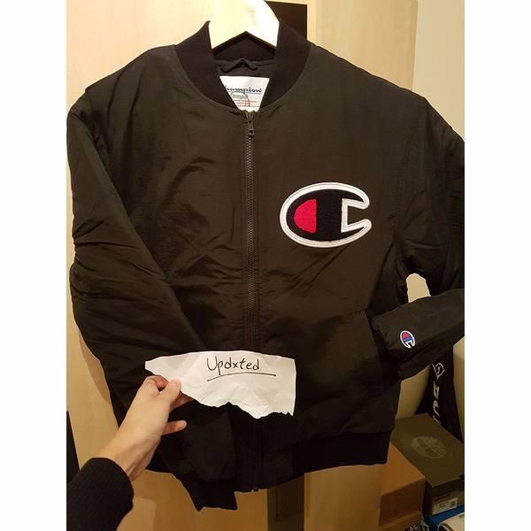 Supreme x Champion Color Blocked Jacket Black Small - photo 2/5