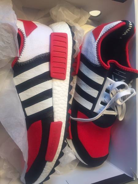 Cheap Adidas Originals NMD RUNNER Trainers legend ink/mineral red