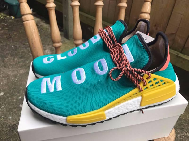 1faaf87a3c0e Pharrell Williams x adidas NMD Hu Trail Black AC7359 Frifelt El