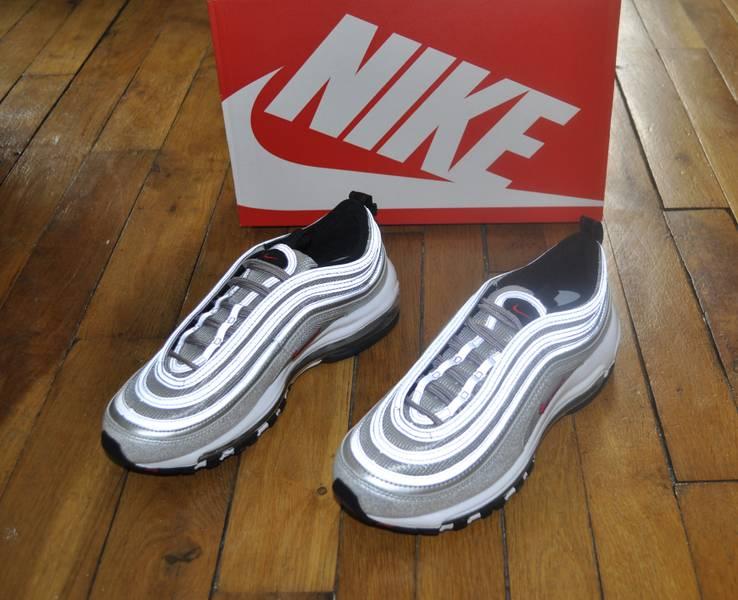 Cheap Nike Air Max 97 White/ Wolf Grey Black Footshop