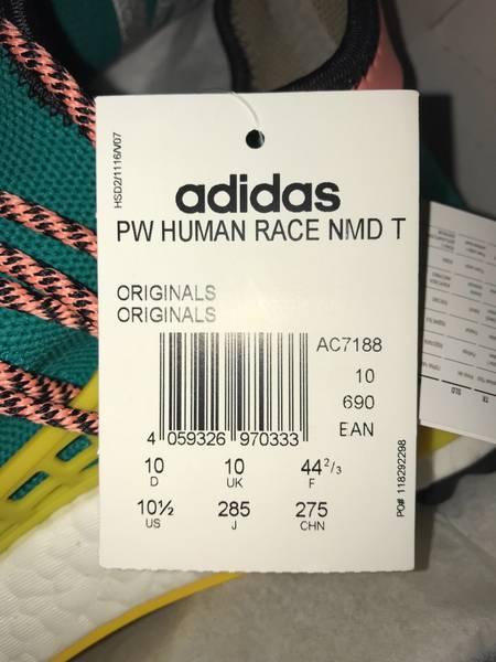 6fc8344065dad Pharrell Williams x Adidas Human Race NMD