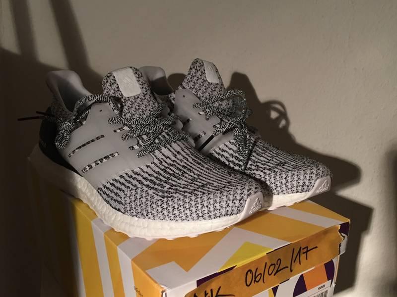 Adidas Zebra / Oreo Ultra Boost 3.0 pick up \\ u0026 Kicksource.net shiny