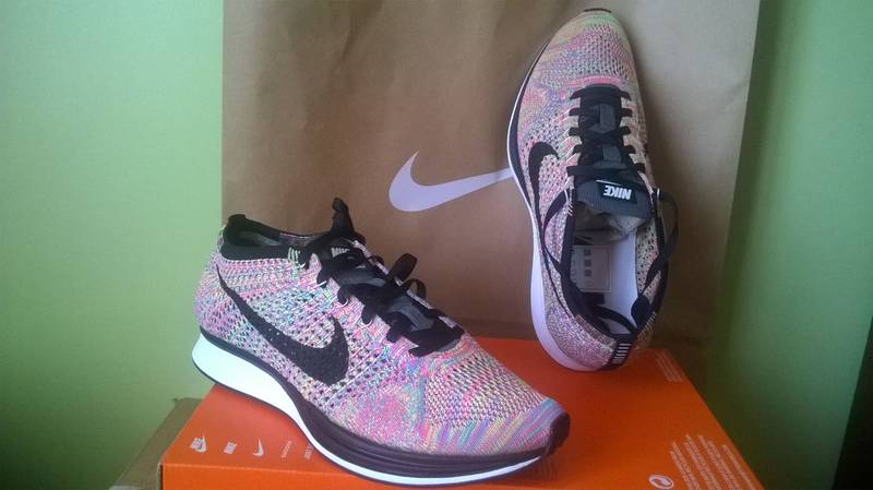 nike flyknit racer multi-color - photo 5/6