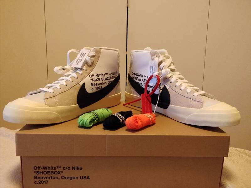 Nike x Off White The 10 Blazer mid US 11 - photo 2/7