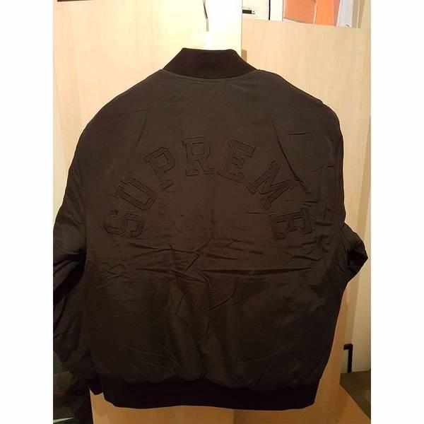 Supreme x Champion Color Blocked Jacket Black Small - photo 4/5
