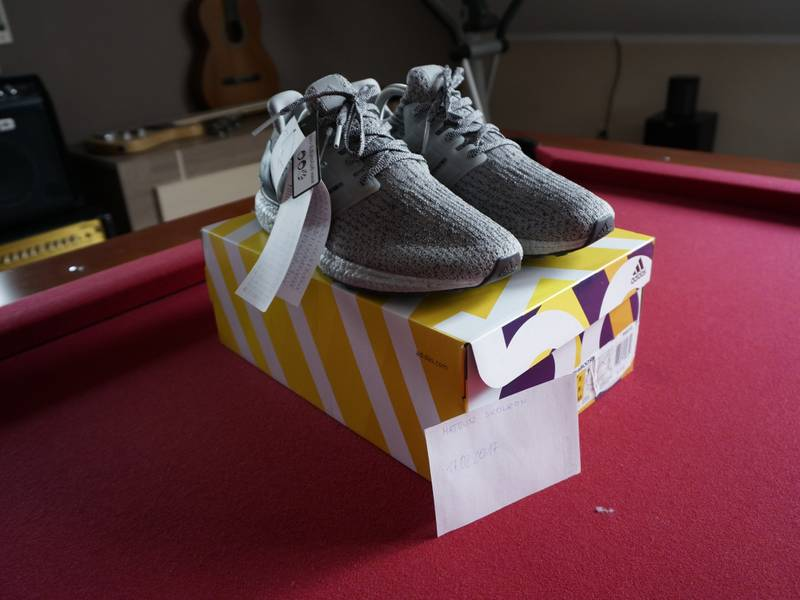 Adidas Ultra Boost M 3.0 Silver Super Bowl Halftime Pack Ultraboost