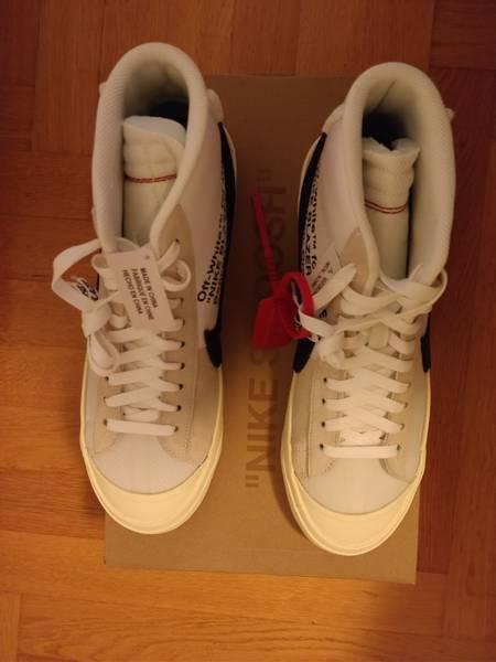 Nike x Off White The 10 Blazer mid US 11 - photo 5/7