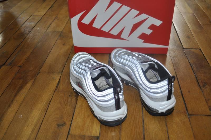 online store 476fe d5048 ... Nike Air Max 97 OG QS Silver Bullet Size 8 Us 7 Uk 41 Eu ...