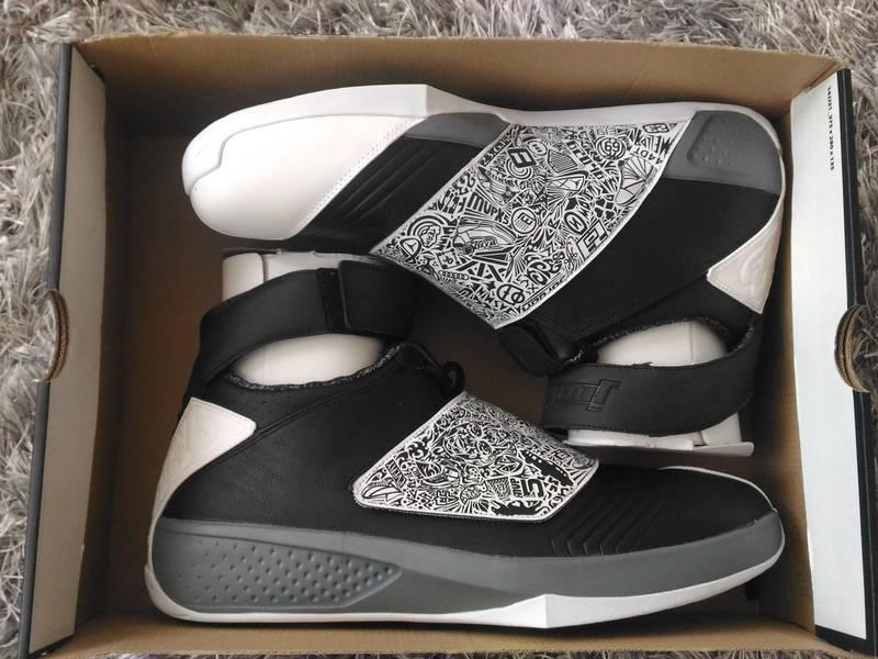 Air Jordan XX Black/White - Cool Grey - photo 1/5