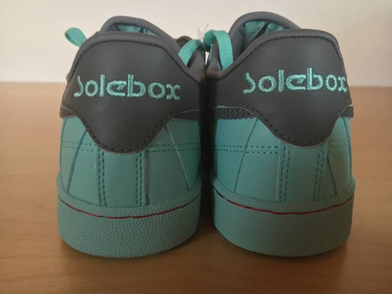 reebok classic club c 85 year of the court x solebox