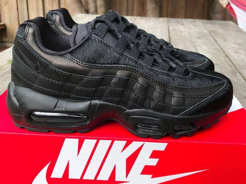 f04f88fb34d ... Nike Wmns Air max 95 Premium Black Pony Hair - photo 28 ...