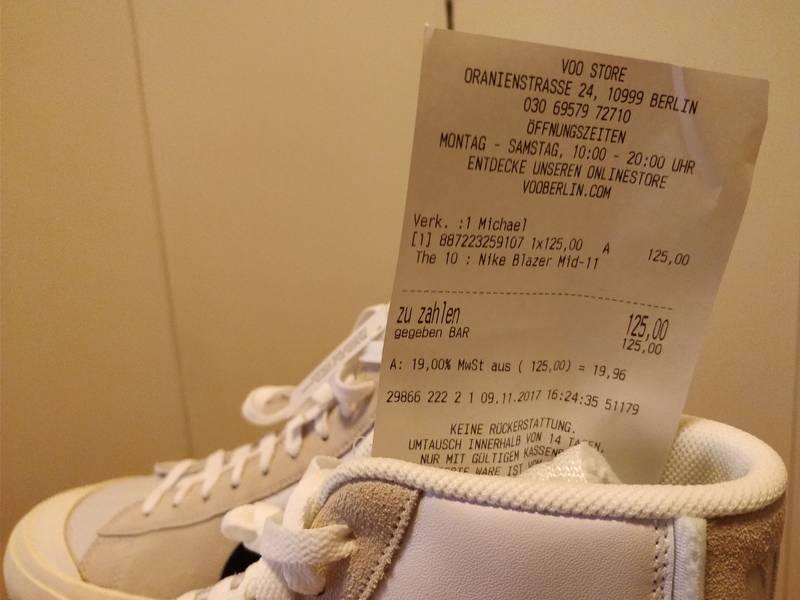 Nike x Off White The 10 Blazer mid US 11 - photo 4/7