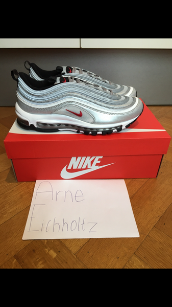 Nike Air Max 97 OG QS 'Silver Bullet' - photo 1/5