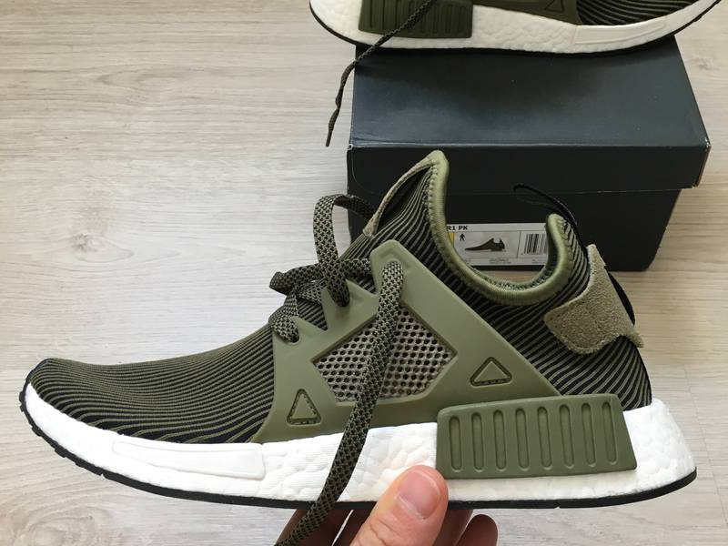 NEW Adidas NMD XR1 S32217 Men Green Olive Sport Running