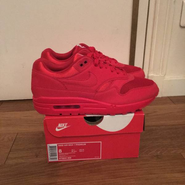 491b49cb6d ... spain nike air max 1 university red 8 us eu japan only yeezy october  supreme cdg