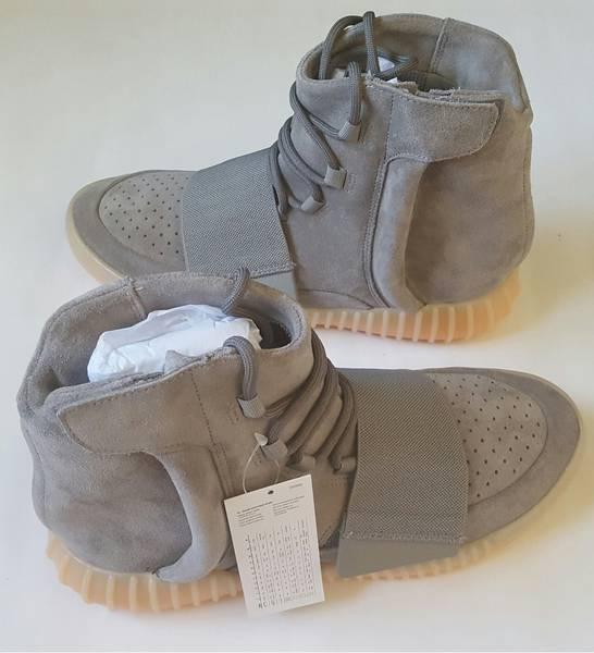 Adidas Yeezy Boost 750 Light Grey Gum - photo 1/5