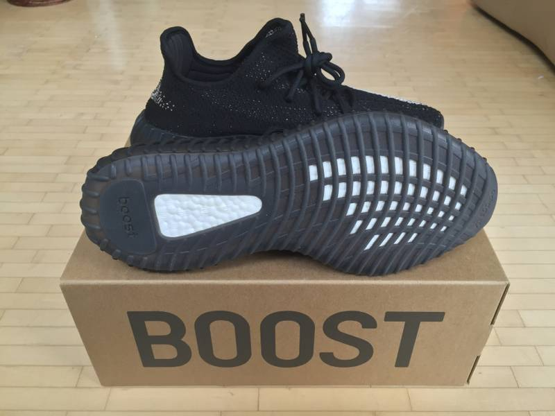 "Adidas Yeezy Boost 350 v2 Black/White ""Oreo"" - EU 44 - NEU/NEW - photo 5/5"