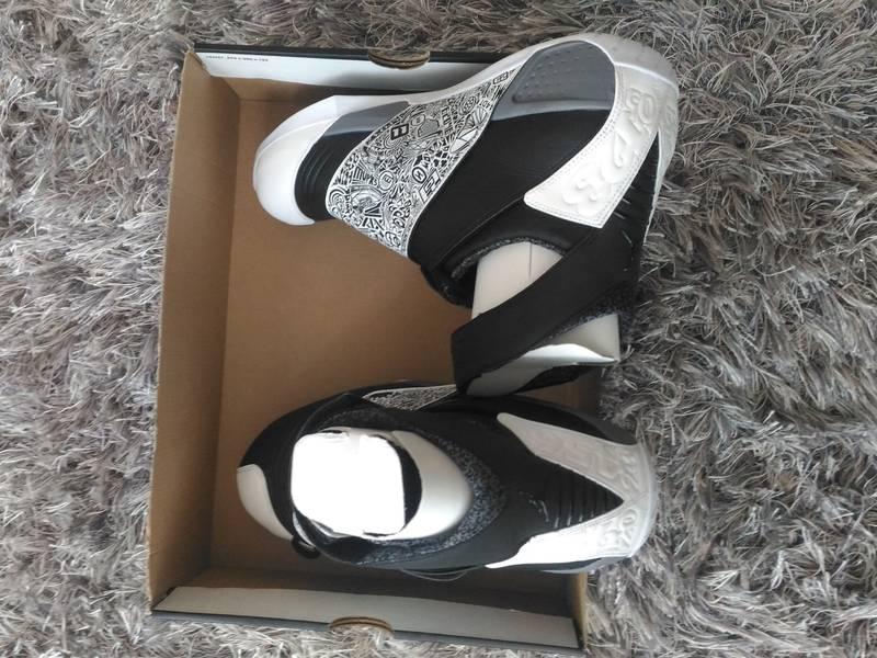 Air Jordan XX Black/White - Cool Grey - photo 3/5