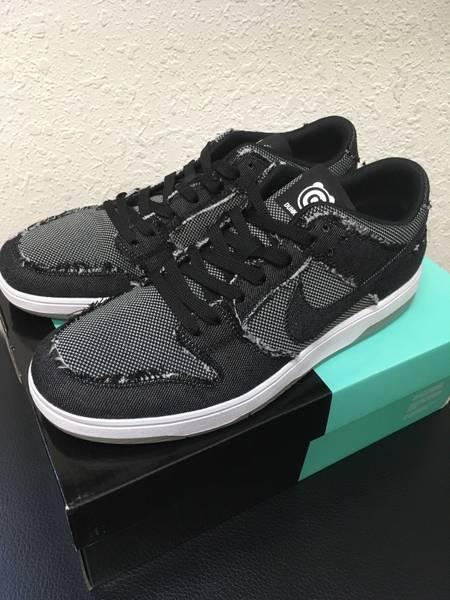 6db9de5cd48dc ... Nike Sb Dunk Low Elite Qs X Medicom Toy Bearbrick Denim Black - photo 1  ...