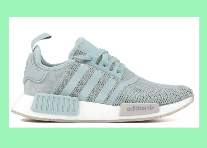 NEW Adidas NMD W R1 F36 US5 JD Sportx excl. Teal grey bluegreen CQ1877 - photo 1/5