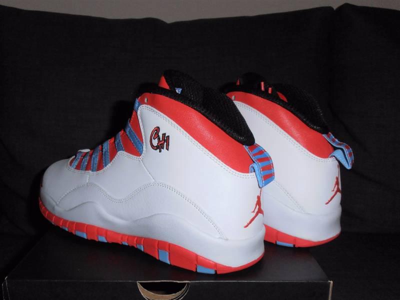 newest 6c443 8fa5c ... bred Nike Air Jordan Retro 10 whitecrimson - US 10 chicago og 1  Air  Jordan X ...