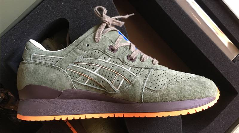 more photos d2925 f9acc ronnie fieg x asics gel lyte iii mossad