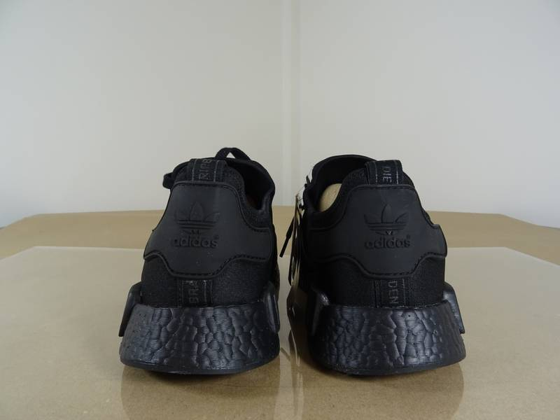 Adidas NMD R1 Triple Black Monochrome Pack (Multiple Rare Sizes) - photo 3/8