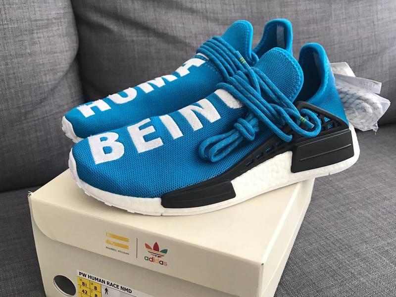 Adidas Pharrell Williams PW Human Race NMD Trail Sunglow UK 10