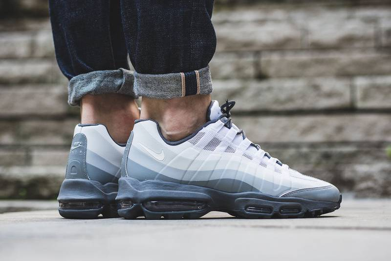 reputable site d0608 29f26 Nike Air Max 95 Ultra Essential Wolf Grey White black 6 7 39 40 AM95 jcrd  ...