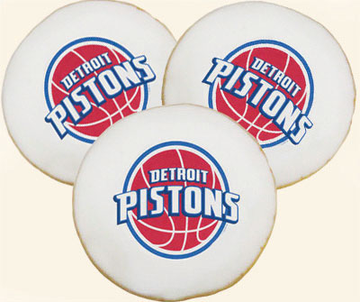NBA Detroit Pistons Cookies