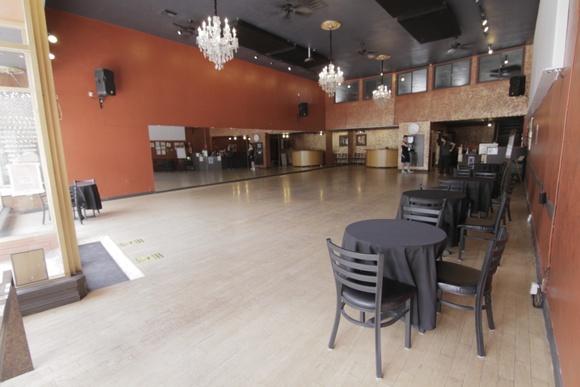 Spacious Ballroom Dance Studio with Mirrors.