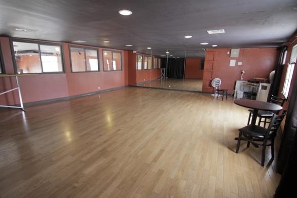 Spacious Ballroom Dance Studio with Mirrors - Smaller Studio, Second Floor.