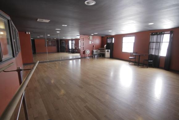 Ballroom Dance Studio - 2 Floors (Bigger floor - 1700 sq. ft., smaller - 644 sq. ft.).