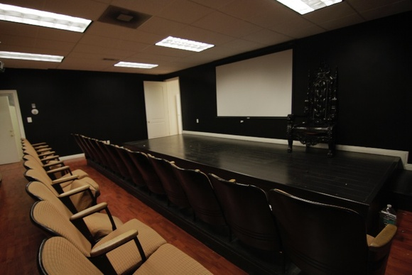 Theater. IMPORTANT. STATED RATES ARE FOR 8 HOURS during week days only (any time from 8AM to 6PM), for more than 8 hours, weekend or after hours STUDENT AND INDIE rate becomes: 12hour day - $1125, after hours or weekend - $1500. Any project that is after 6PM or on weekends requires a staff member and a security personal to be present for extra pay. Access to electricity is stipulated for each production (minimum fee is $ 300).