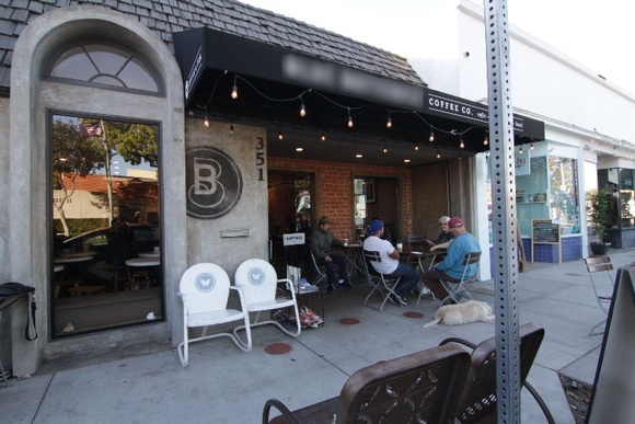 Third wave coffee shop with rustic modern vibe, exposed brick, skylights, brick back patio. Business hours: Mon-Fri 6AM to 7PM, Sat-Sun 6AM-7PM. Rates stated are for non-business hours only. Allows closedown for extra pay depending on the scale of the project. Artwork changes every once in a while.