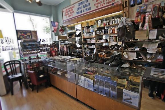 Shoe Repair Shop established in 1954.