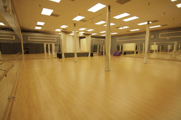 Three dance studio spaces. One small, one medium and one very large with performing stage and changing rooms. Front entrance with desk. High ceilings in the large studio. You can bring chairs and make it look like theater for kids performance. PLEASE NOTE: stated rates are for the small studio. Medium Studio rates: student - $40 an hour, indie - $55 an hour, commercial - $90 an hour. Large Studio rates: student - $50 an hour, indie - $65 an hour, commercial - $100 an hour. No filming allowed during business hours. Business hours are Mon-Fri 4PM-9PM.
