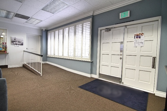 Allows close down during business hours: Extra Fees.                                                                         Business Hours:                                                                         M-F 8:30am-5:00pm                                                                         Nice office building with Director's Room and classroom. It has a nice waiting area and big cubicles. A lot of parking. Very quiet and secure area.