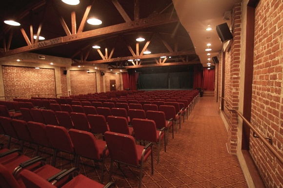 300 Seat Theater. Cafeteria Space, Restrooms and 2 Make up rooms available when booked.