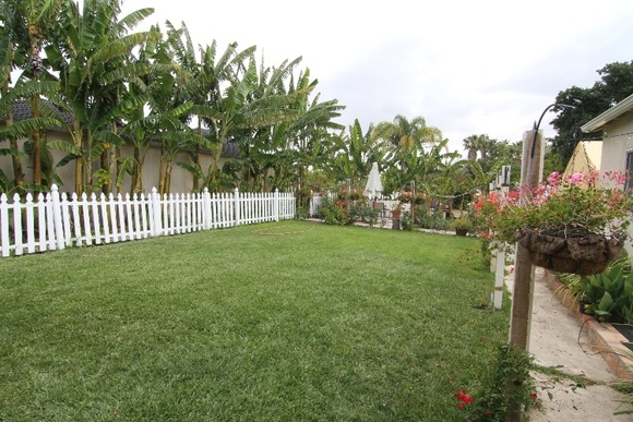 Saturdays are not available for filming. Backyard with Pool, Small Kitchen, Bathroom, Hammock. Separate open space suitable for outside dining scene.