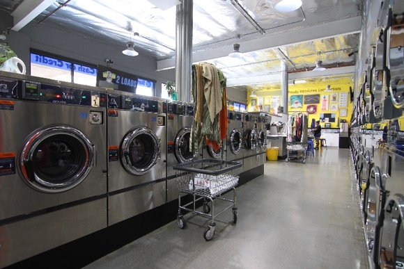 Bright, contemporary, updated laundromat. 2 Rooms and a large bathroom. Stated is a closedown rate. Business Hours: 6AM-Midnight. Can close down anytime depending on day and time of the week.