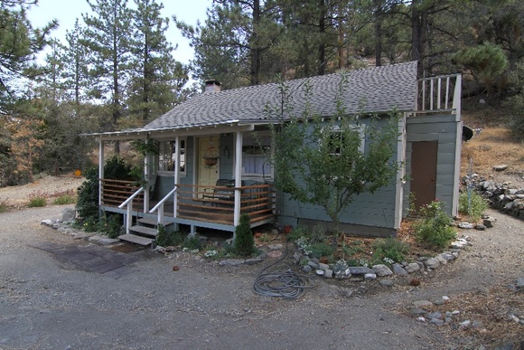 Patio, 1 Bedroom, 1 Bathroom and The Attic.  Cabin is nature surrounded, is in the mountains, about 6000ft elevation, located in a quiet neighborhood. Please note that during winter (DEC-FEB) the snow reaches about 5ft.